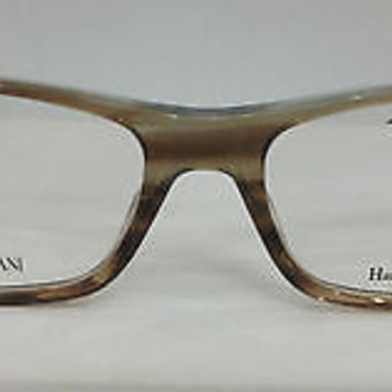 Giorgio Armani GA883 Col O88 Brown Plastic Eyeglasses Frame 54mm 16mm 140mm New