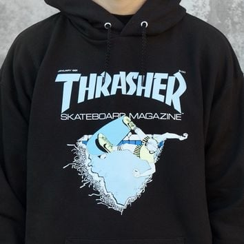 Thrasher Magazine Shop - First Cover Thrasher Hooded Sweatshirt