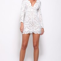 Love Into Motion Dress White