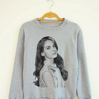 Lana Del Rey Shirt Lana Del Rey TShirt Rock Sweater Shirt Sweatshirt Jumpers TShirt Long Sleeve Shirt Women Shirt Unisex Shirt Size S,M,L