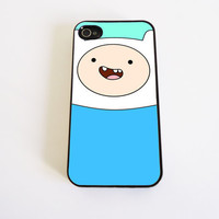 Adventure Time Finn case for iPhone 4 and iPhone 4S by KonekoStore