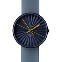 NAVA Design Watch - Plicate Blue