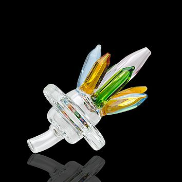 Empire Glassworks UV Healing Crystals Carb Cap