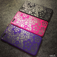 Cute Flower Lace Case for iPhone