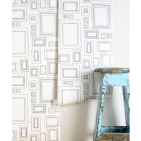 Graham and Brown Graham and Brown Frame Wallpaper from Urban Outfitters | BHG.com Shop