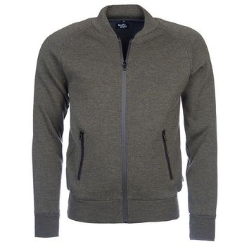 Becket Zip Through Jacket in Olive by Barbour - FINAL SALE