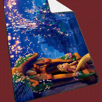 Rapunzel Disney Tangled 3126f492-9579-4fcd-a87c-1ef7e8144bba for Kids Blanket, Fleece Blanket Cute and Awesome Blanket for your bedding, Blanket fleece*NS*