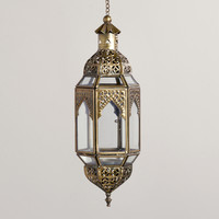 Clear Latika Hanging Lantern