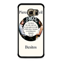 Pierce The Veil Song Lyrics Band Samsung Galaxy S6 Edge Case