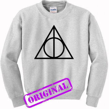 Deathly Hallows for sweater ash, sweatshirt ash unisex adult
