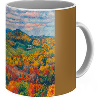 Rocky Knob In Fall Coffee Mug for Sale by Kendall Kessler