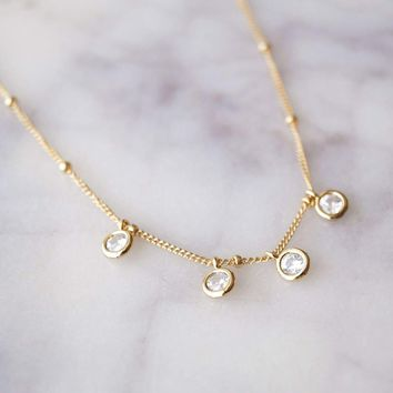 Four Sisters Necklace