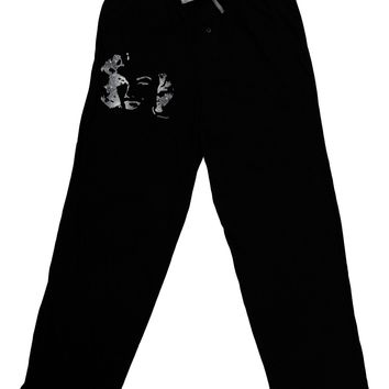 Marilyn Monroe Galaxy Design and Quote Adult Lounge Pants - Black by TooLoud
