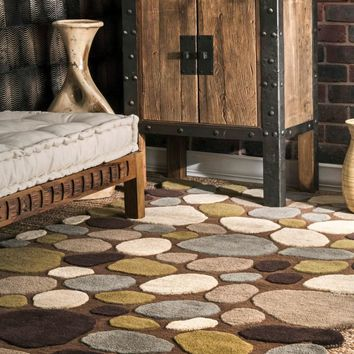 nuLOOM Hand Tufted Pebbles Area Rug