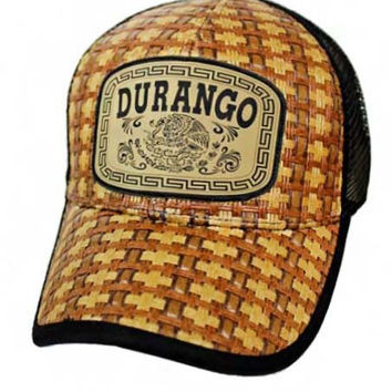 * Durango Hat Adjustable Back In Black