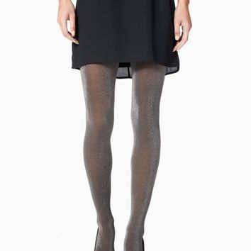 Shimmer Lurex Tights | Charming Charlie