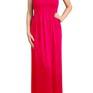Women's Seamless Strapless Long Maxi Dress for Women Tube Bandeau One Size Dress