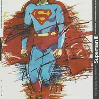 Superman 3 (Polish) 27x40 Movie Poster (1983)