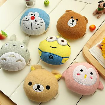 Cotton Baby Bath Brush Cartoon Soft  Bath Sponge Shower Product Rub Towel Ball