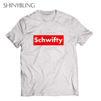Get Schwifty UNISEX Rick And Morty Pure Cotton Short Sleeve Shirts