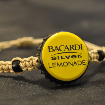 Black and Yellow Bacardi Silver Lemonade by BeautyntheBeach