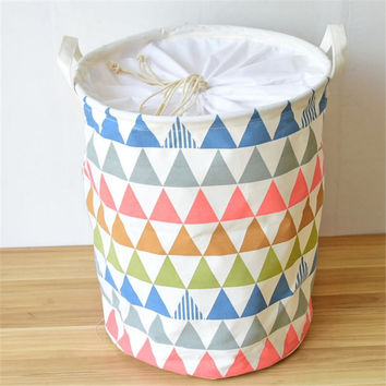 Fabric Laundry Basket, Laundry Hamper