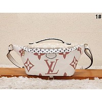LV Louis Vuitton New Fashion Leather Waist Bag Satchel Single Crossbody Shoulder Bag 1#