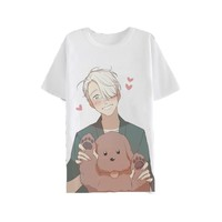 ROLECOS  Anime          Cosplay  Costume  Shirts  Victor