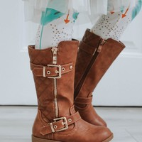 Stitched In Style Boots - Kids