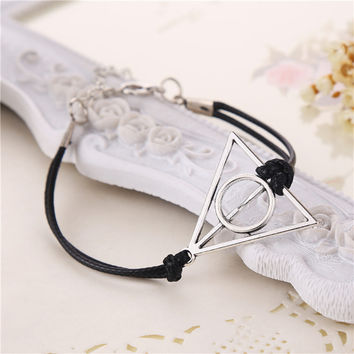 Deathly Hallows Leather Rope