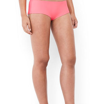 Women's Cheeky Boy Short Swimsuit Bottoms