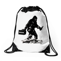 bigfoot Drawstring Bags