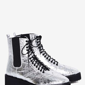 Shellys London Lily Metallic Boot