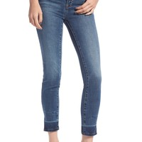 Good American Good Legs Side Slit Ankle Skinny Jeans (Blue 155) (Regular & Plus Size) | Nordstrom