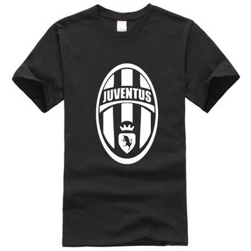 brand T Shirt Men'S Lastest 2017 Fashion Short Sleeve Juventus Printed T-Shirt Funny Tee Shirts Hipster O-Neck Cool Tops