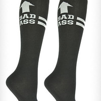 Bad Ass Derby Girl Knee Socks | PLASTICLAND