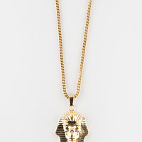The Gold Golds X Last Kings Pharaoh Logo Necklace Gold One Size For Men 27565562101