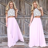 Fashion Women Summer Skirt Long Skirts Elegant Beach