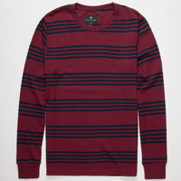 Shouthouse Fast Time Mens Thermal Burgundy  In Sizes