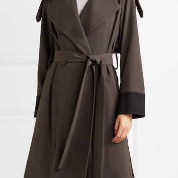 See by Chloé - Two-tone jersey trench coat