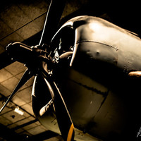 Airplane Photograph - Vintage, Antique, Fine Art Photography - Man and Flight - 8x10 Photographic Print - Boys Rooms - Man Caves