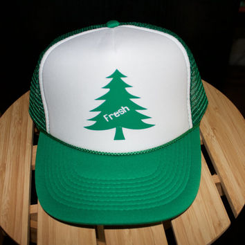 Scented Tree Inspired Fresh Trucker Hat. Awesome hat. Mesh back one size fits most snapback