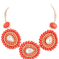 Coral Burst Necklace – Modeets