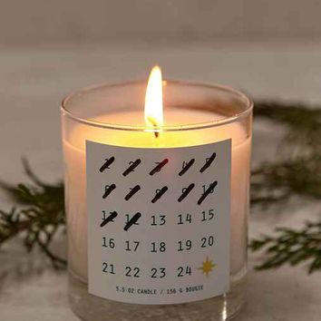 Holiday Countdown Candle