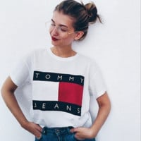 Tommy Hilfiger Tommy  classic tee shirt T-shirt