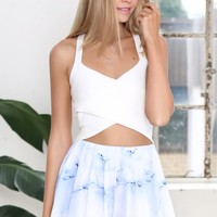 Whisper Shorts Blue Marble