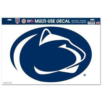 "Licensed Penn State Nittany Lions 11"" x 17"" Car Window Cling Decal PSU Wincraft 663368 KO_19_1"