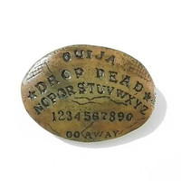 Ouija Board Brooch Spirit Board Halloween Pin