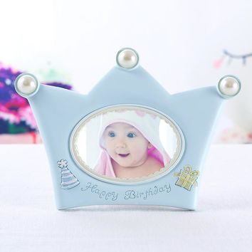Cute Crown Baby Photo Frame