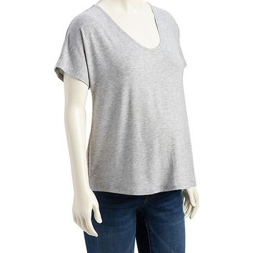 Old Navy Maternity Scoop Neck Tee